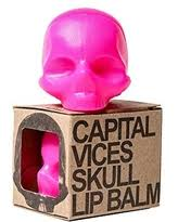 Skull Pink Lip Balm - Fruit