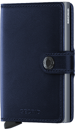 Secrid Miniwallet Navy Polished