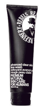 rebels Refinery clear skin face wash for men husband him gift gifts for dad father