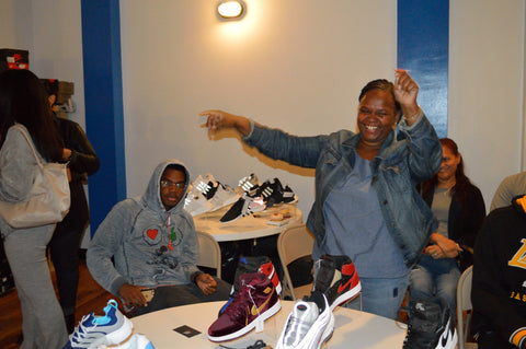 Here is a lucky winner of the Air Jordan 11 Retro 2016 Space Jams