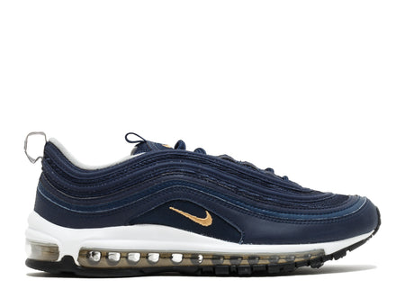 Nike Air Max 97 Midnight Navy/ Metallic Gold GS (Kids)