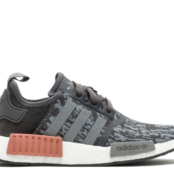 Adidas NMDS R1 Womens Gray Raw Pink