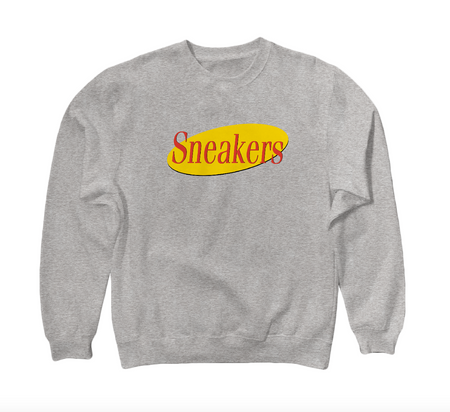 Television Show inspired sweatshirt SNEAKERS
