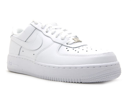 "NIKE AIR FORCE 1 (GS) ""TRIPLE WHITE"""