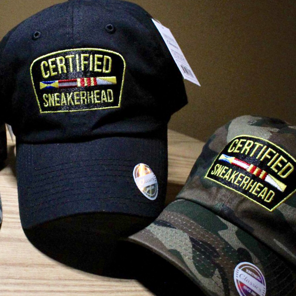 Certified Sneakerhead Caps