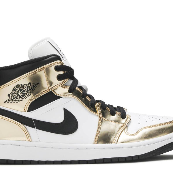 AIR JORDAN 1 MID SE 'METALLIC GOLD'