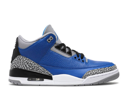 AIR JORDAN 3 RETRO 'VARSITY ROYAL