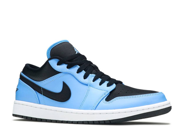 AIR JORDAN 1 LOW 'UNIVERSITY BLUE BLACK'
