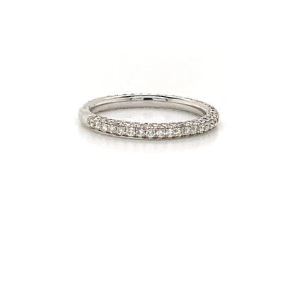 WB0101 ~ 0.88CT DIAMOND 3 EDGE BAND