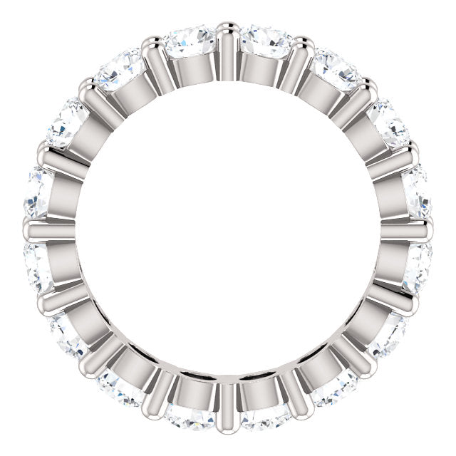 EBM100 ~ MOISSANITE ~ 2.72ctw Eternity Band