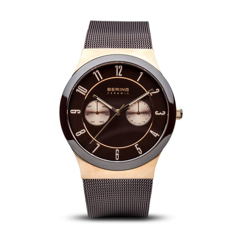 Bering Ceramic Brushed Rose Gold | 32139-265 - Watch