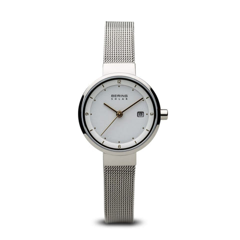 Bering Solar Polished Silver - 14426-001 - Watch