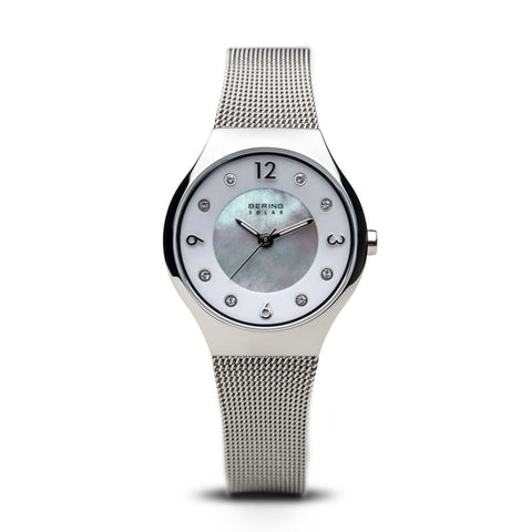 Bering Solar Polished Silver - 14427-004 - Watch