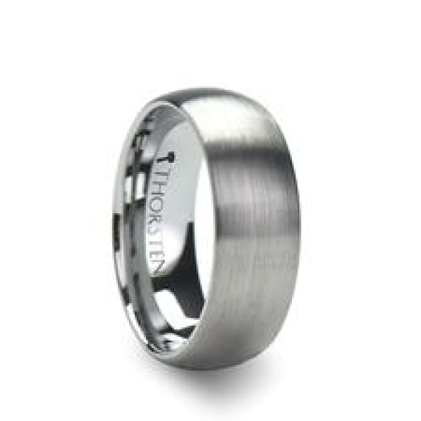 Perseus Comfort Fit Tungsten Wedding Ring - Mens Rings