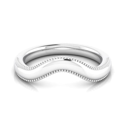 Wb070 ~ 14K Plain Band ~ Matching Band ~ Melanie Ring - Bands