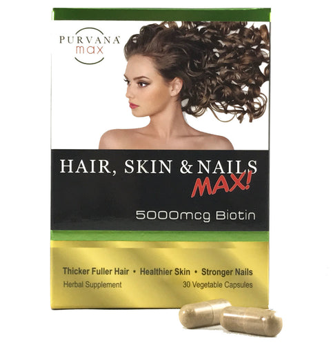 Purvana MAX Hair, Skin and Nails - 30 ct