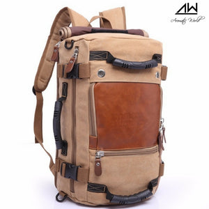 Mount Everest Vintage Travel  Backpack