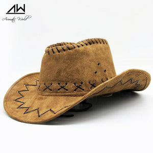 Kakadu cowboy hat - brown