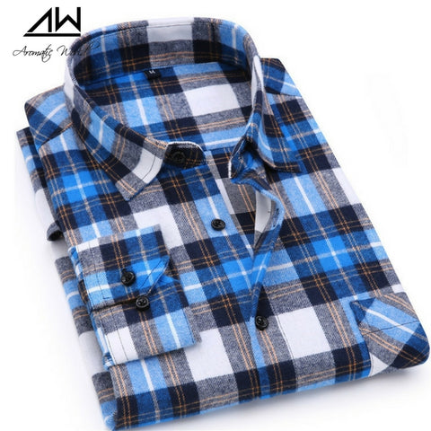 Texas Flannel Plaid Shirt for Men