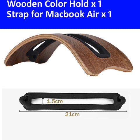 Natural Wood Laptop Holder