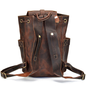 Viking Leather Backpack
