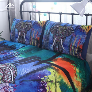 Madala Elephant Pattern Bedding Set