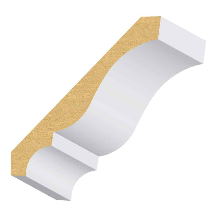 406 MUL  MDF Crown Moulding