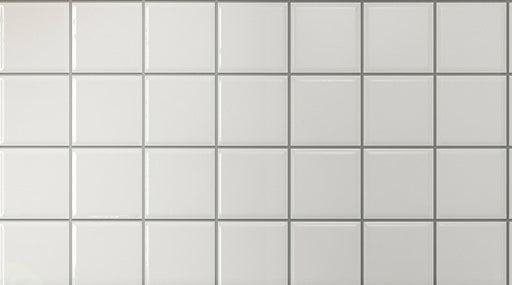 "Orly WHITE ATM Ceramic Wall Tile 4"" x 4'"