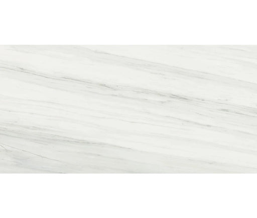 DOL012 Dolomite Pearl Marble-Look Polished Porcelain Tile 24 x 48