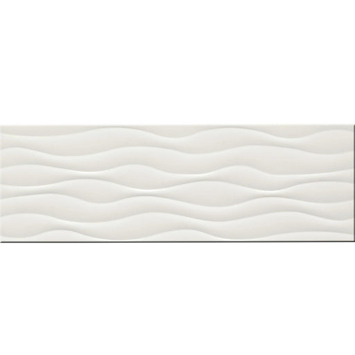 "Leucothea Polished 12"" x 36"" Ceramic Wall Tile"