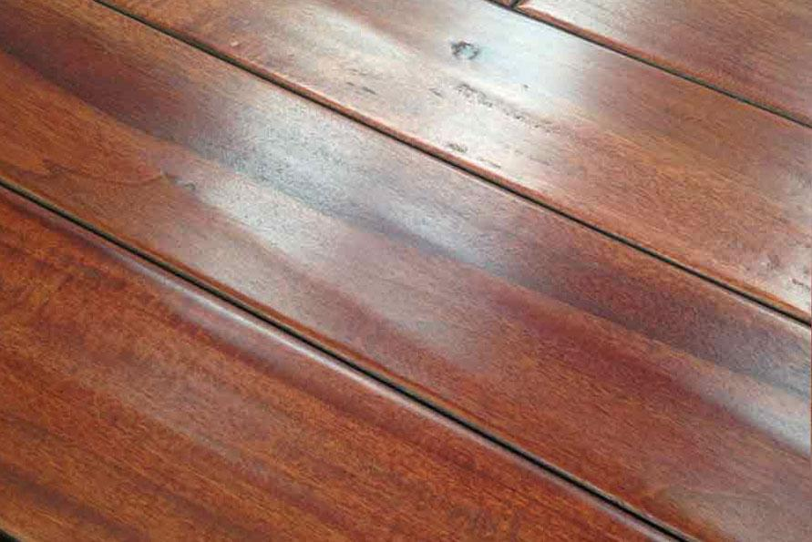 "Gunstock-Blakat Royaltech 5"" W Engineered Distressed Hardwood Flooring"