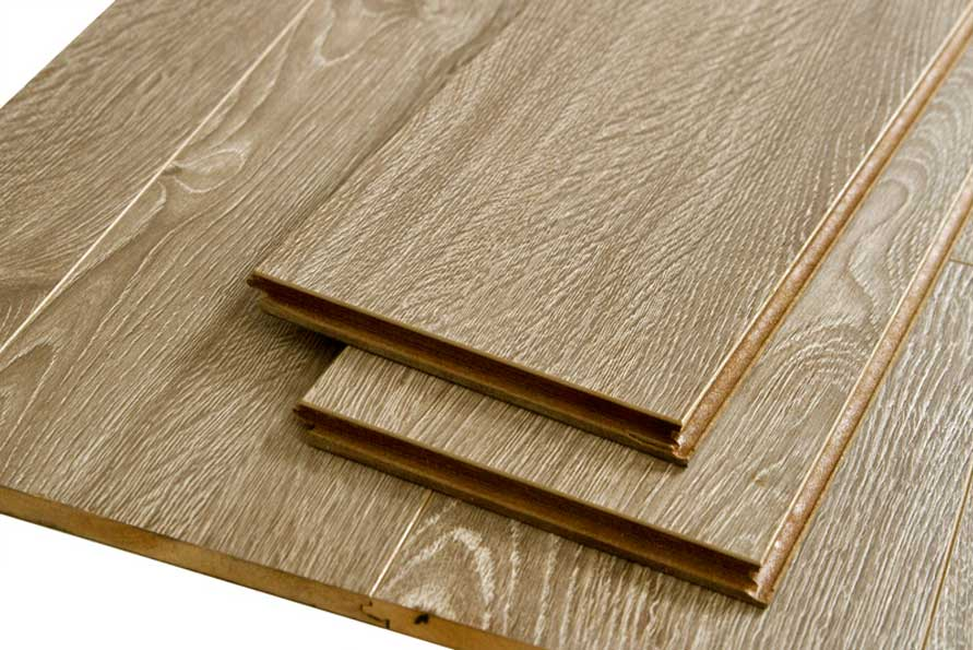 London 12.3 mm Royaltech Handscraped Laminate Flooring