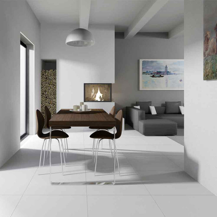 "MN 006 (Light Grey) ATM Porcelain Floor Tile 24"" x 24"""