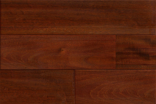 "Mahogany-Blakat Royaltech 5"" W Engineered Distressed Hardwood Flooring"