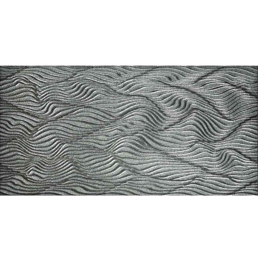 "Emotion Silver Wall Porcelain Tile 12"" x 24"" MADE IN SPAIN"