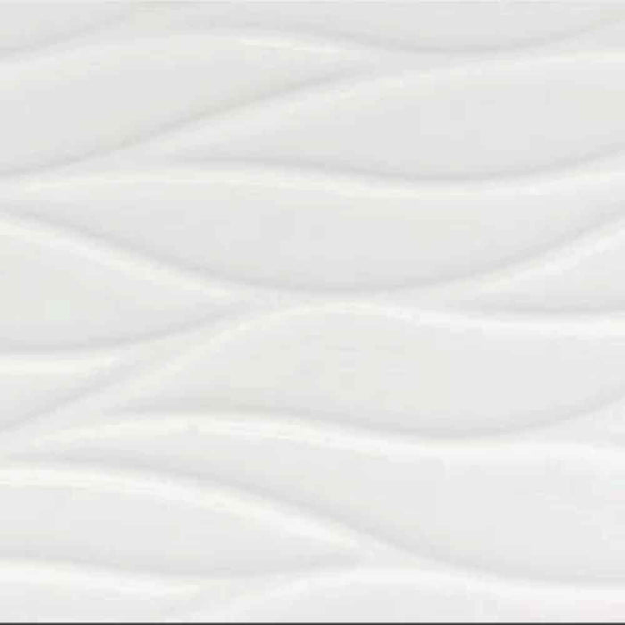 Sea White Ceramic Wall Tile 12 X 36 Made In Spain