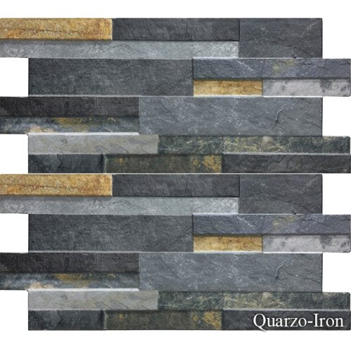 "Quarzo Iron Fujiwa Porcelain Pool Tile 6 1/4"" x 16"""