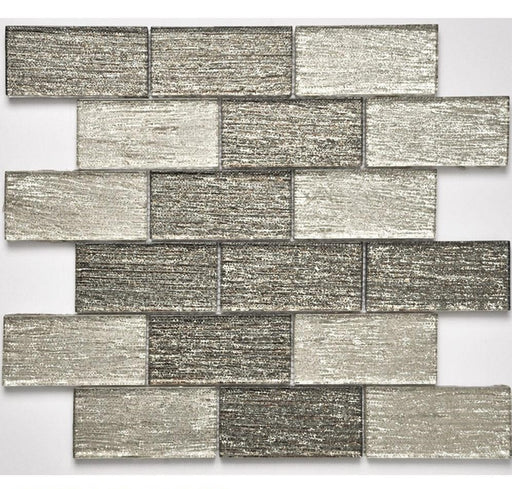 "ROYAL084 Glass Mosaic 11.75""x 12"" x 0.32""- sold by piece"