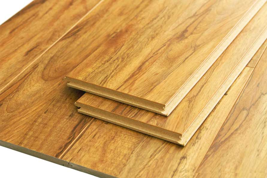 Rustic Olive 12.3 mm Royaltech Handscraped Laminate Flooring