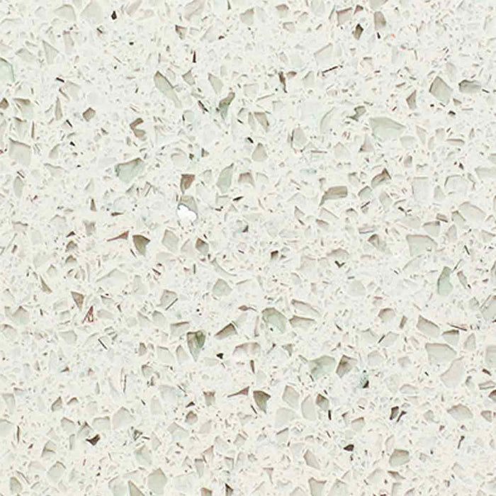 Sratlight White Quartz Countertop 2' x 9' Prefab