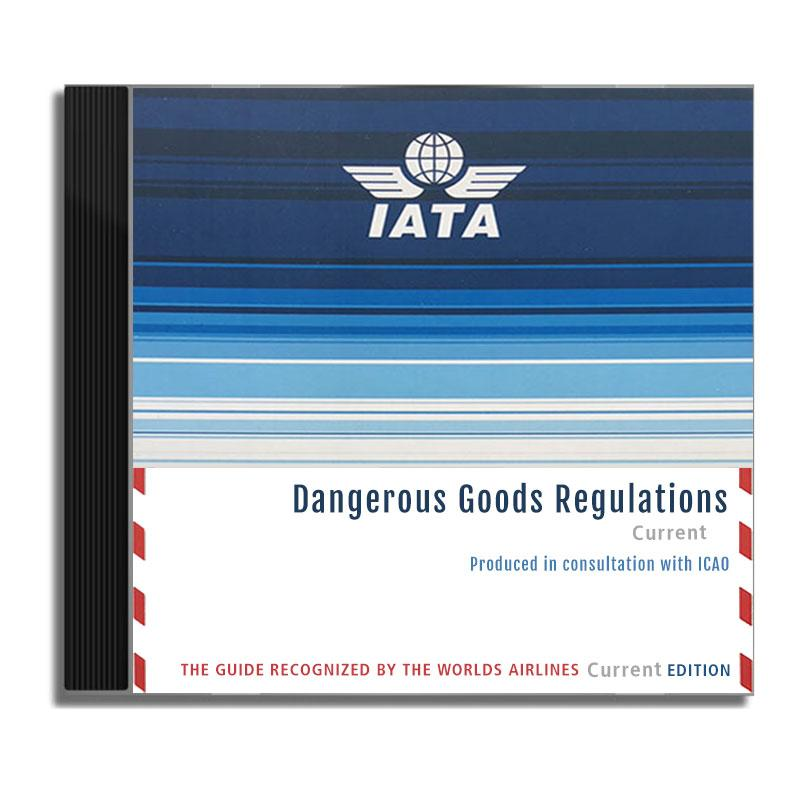 IATA Dangerous Goods Regulations Compact Disc 2018 59th Edition English