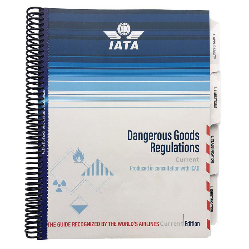IATA Dangerous Goods Printed Manual Spiral Bound English 2018 59th Edition