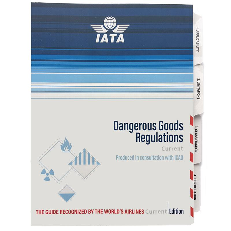 IATA Dangerous Goods Regulations Printed Manual Perfect Bound English 2018 59th Edition