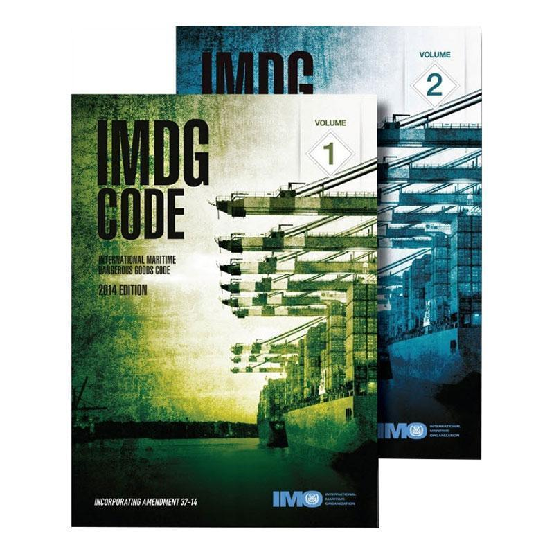 IMDG Code Printed Manual 2 Volume Set English 2018 39th Edition
