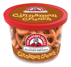Cinnamon Crunch Flavored Pretzels