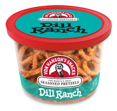 Dill Ranch Flavored Pretzels
