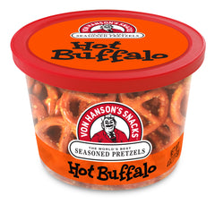 Hot Buffalo Flavored Pretzels