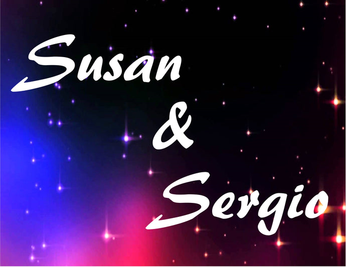 Susan and Sergio