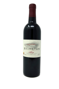 2012 BYINGTON CABERNET SAUVIGNON ALLIAGE - Byington Winery