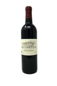 2014 BYINGTON CABERNET SAUVIGNON TIN CROSS VINEYARD - Byington Winery